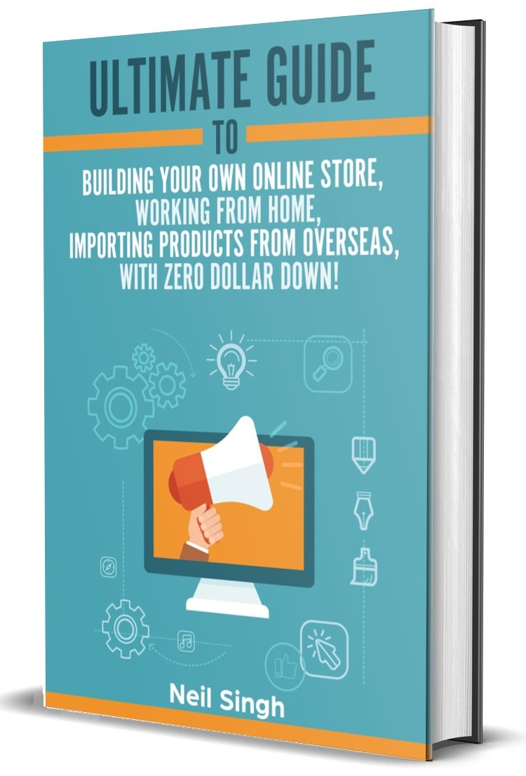 Start your own online store work from home